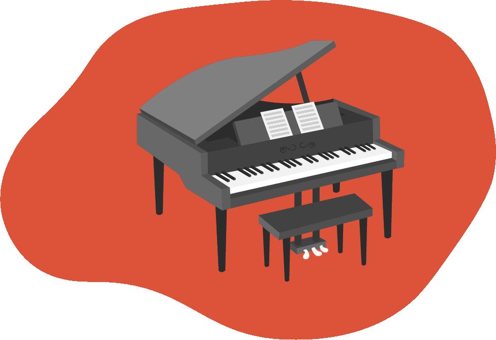 cursuri de pian muzica