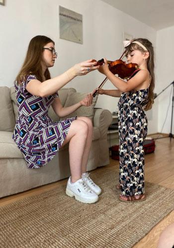 profesor vioara